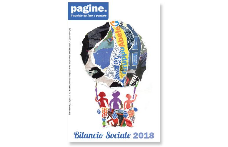 Gruppo Abele - Bilancio sociale 2018 - Progettazione grafica, impaginazione, infografica