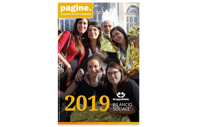 Gruppo Abele - Bilancio sociale 2019 - Progettazione grafica, impaginazione, infografica
